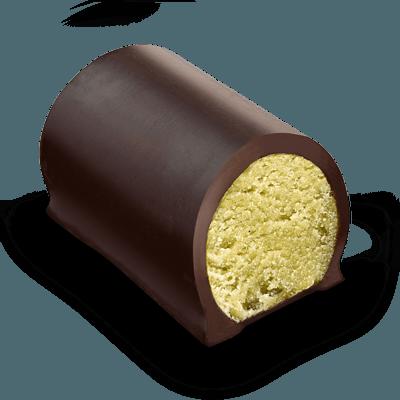 Buche-massepain-pistache